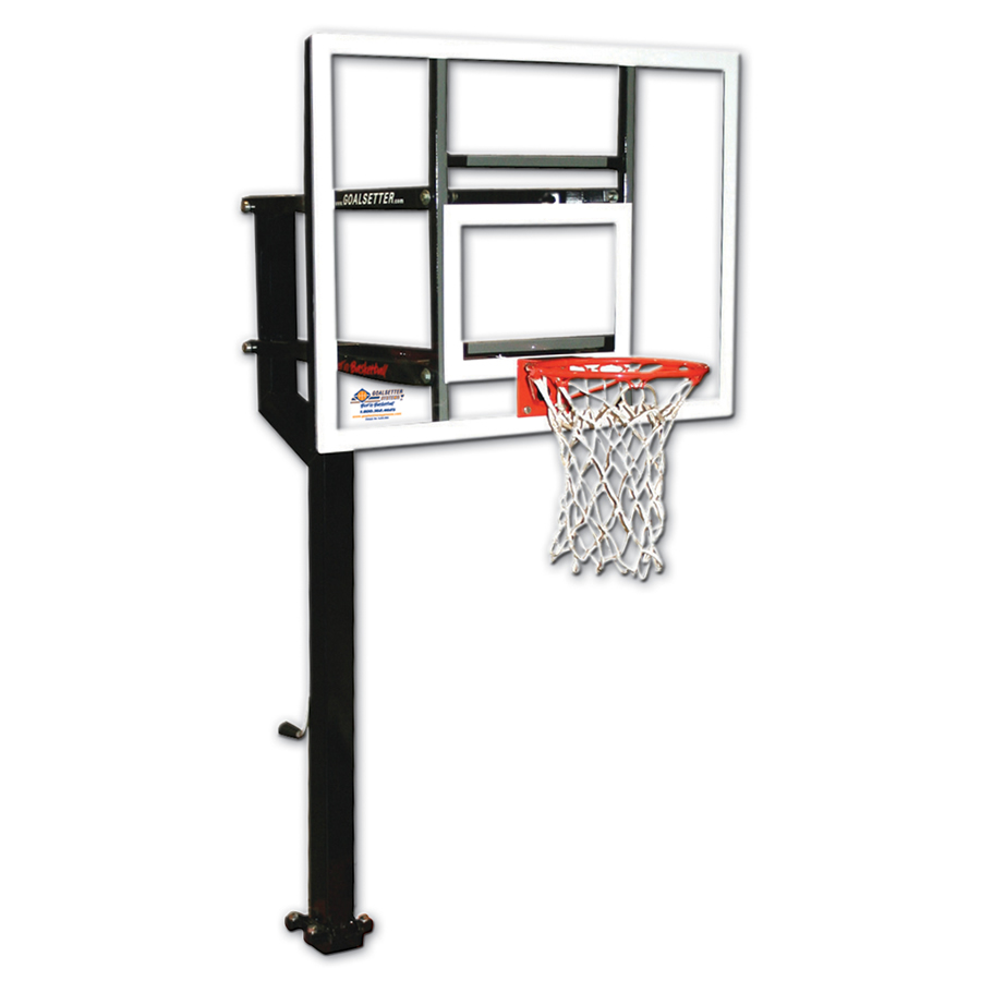 Goalsetter MVP In-Ground Basketball Hoop with 72 Inch ...