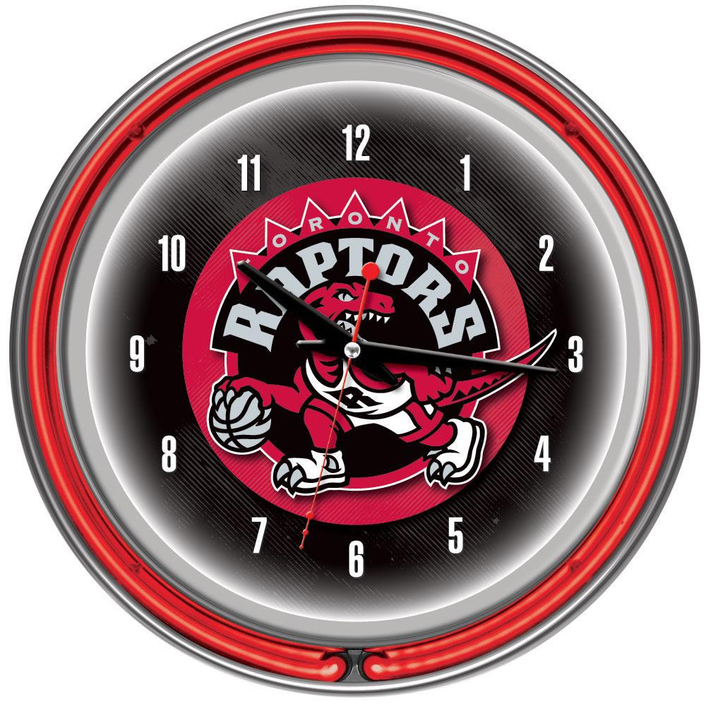 Toronto Raptors Neon Clock