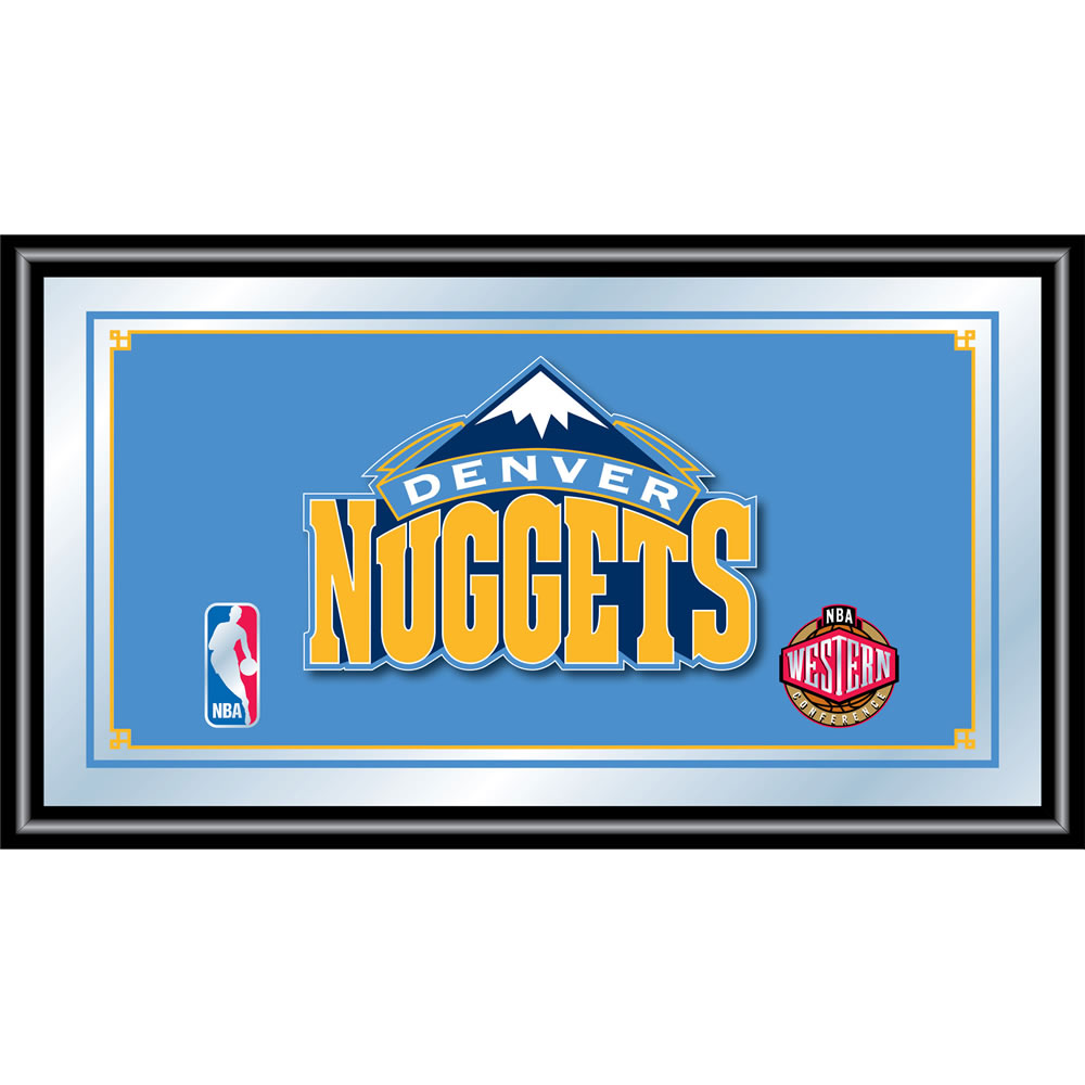 Denver Nuggets Quotes: Denver Nuggets Framed Mirror