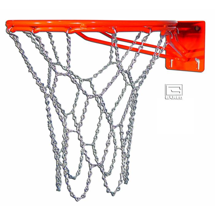 Баскетбольная сетка металлическая своими руками5